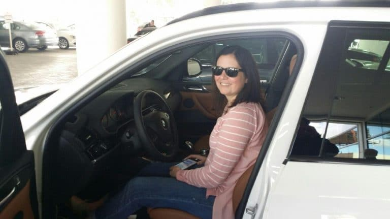 This client in Beverly Hills had a great experience using Car Pal as her car buying agent.